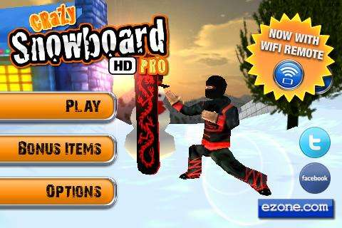 CRAZY SNOWBOARD HD PRO para Android